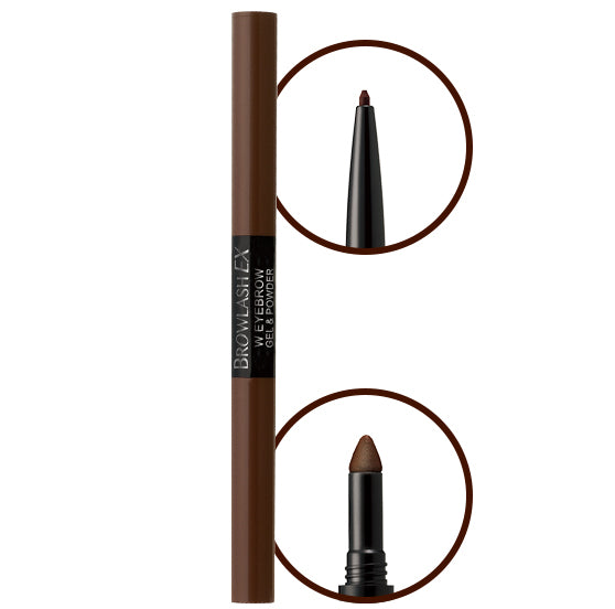 BCL BROWLASH EX Eyebrow Pencil And Liquid (Royal Brown)
