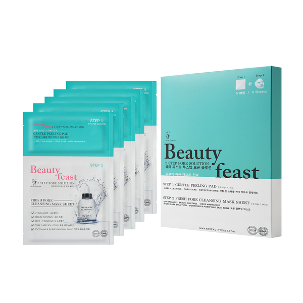 Beautyfeast 2 Step Pore Solution