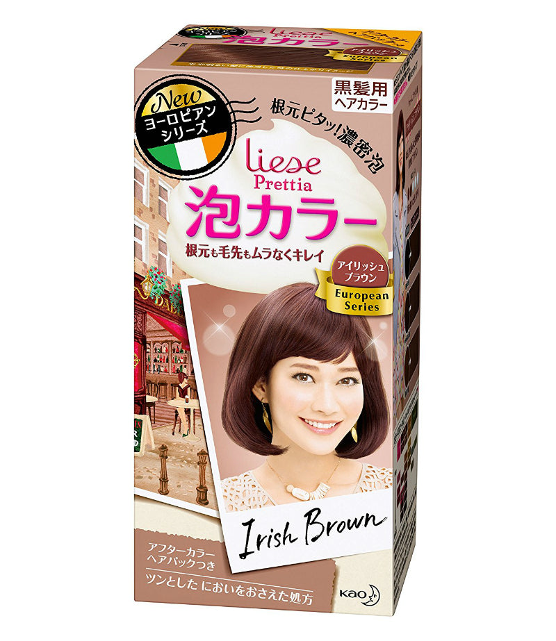 Kao Prettia Bubble Hair Color Irish Brown - oo35mm