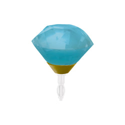 Decoppin Birthstone - Topaz (December) - oo35mm