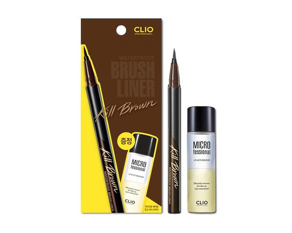 Clio Professional Waterproof Brush Liner - Kill Brown