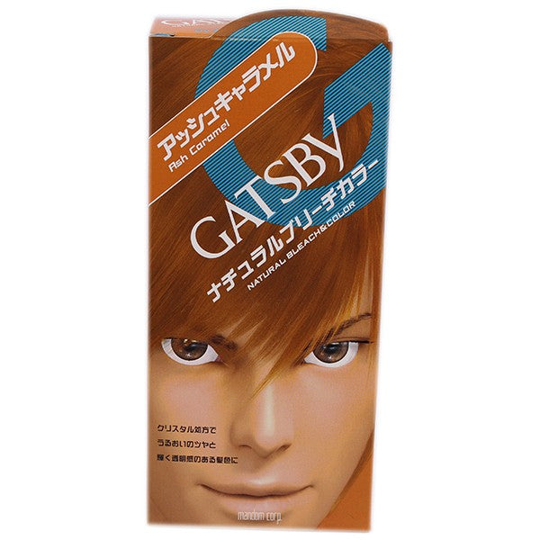 GATSBY Natural Bleach Color Ash Caramel