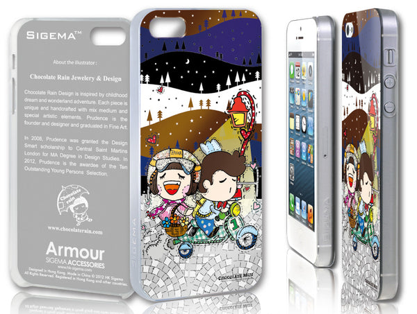 Sigema ProCase iPhone 5 Cover - Riding in the Night - oo35mm