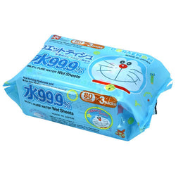 Lec Doraemon Wet Tissue 80 Sheets
