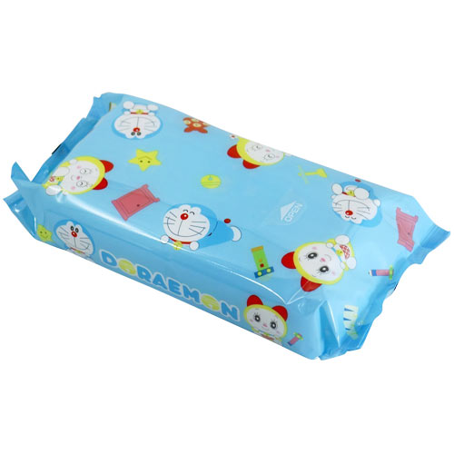 Lec Doraemon Wet Tissue 80 Sheets - oo35mm