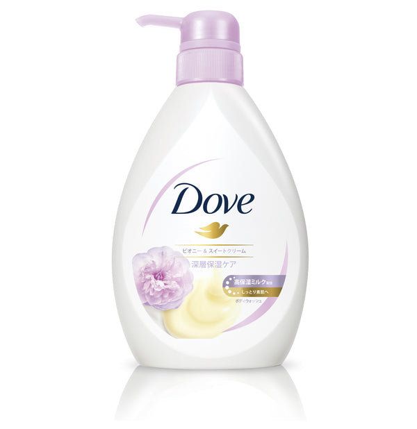 Dove Body Wash Premium Moisture Care Pump Peony