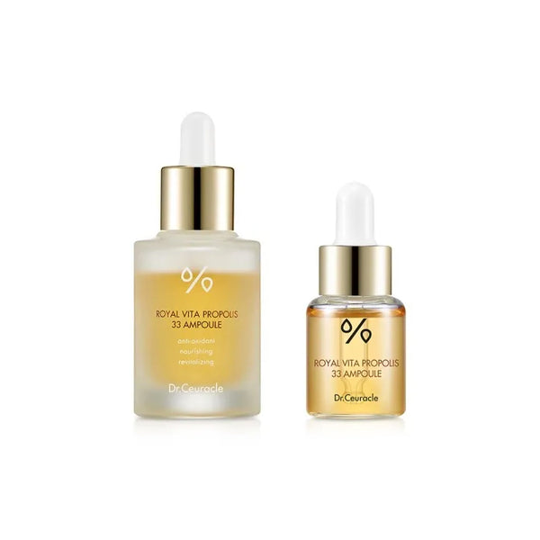 Dr. Ceuracle Royal Vita Propolis 33 Ampoule Limited Edition Set - oo35mm