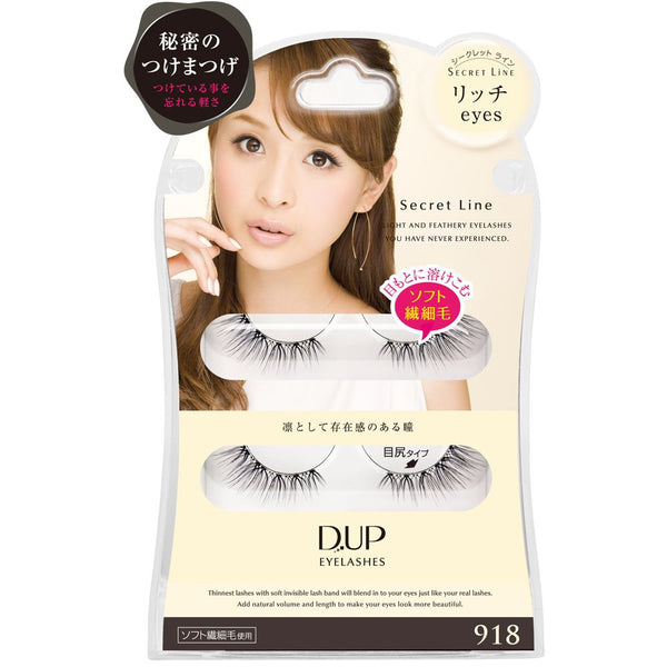 DUP Eyelashes Secret Line 918 - oo35mm