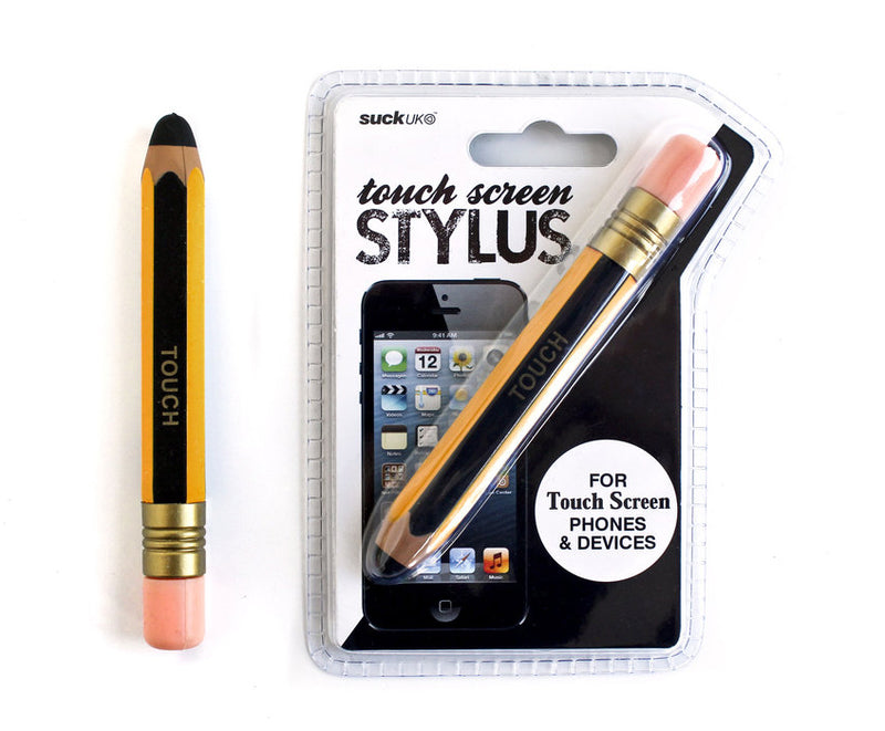 Pen Touch Screen Stylus - Yellow - oo35mm