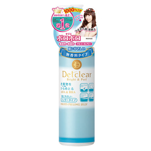 Meishoku Detclear Facial Peeling Jelly (Non Fragrant) - oo35mm