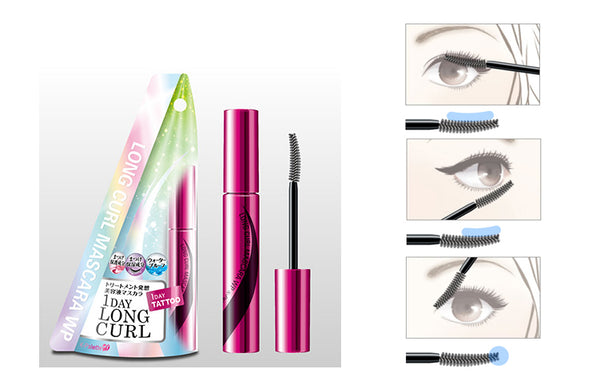 K-Palette Long Curl Mascara Waterproof - oo35mm