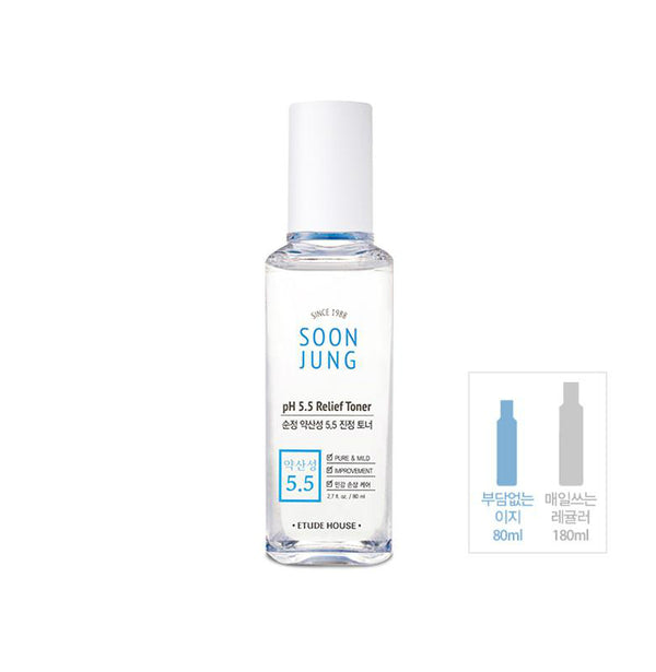 Etude House Soon Jung pH 5.5 Relief Toner