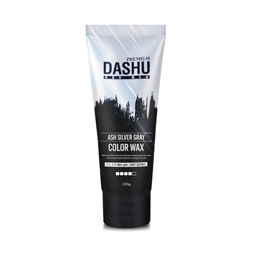 Dashu Ash Silver Gray Color Premium Hair Wax