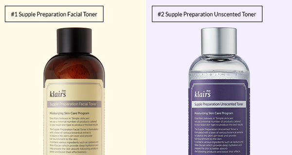 Klairs Supple Preparation Facial Toner Unscented