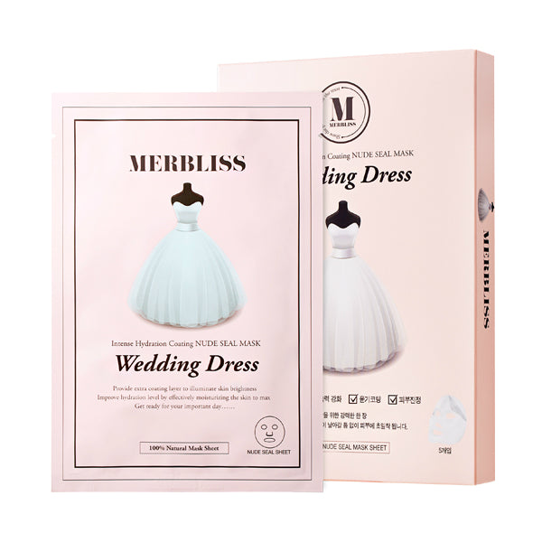Merbliss Wedding Dress Intense Hydration Nude Seal Mask