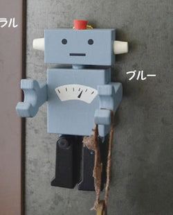 Robot Magnet Hook Blue