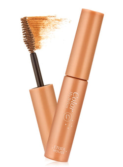 Etude House Color My Brows Mascara 02 Light Brown - oo35mm