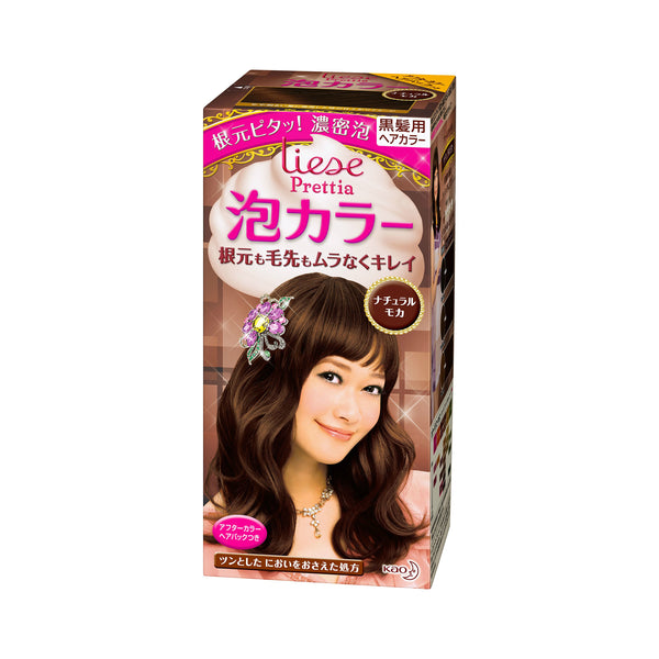 Kao Prettia Bubble Hair Color Natural Mocha - oo35mm