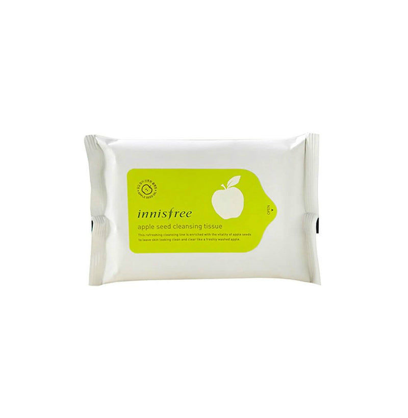 Innisfree Apple Seed Lip and Eye Makeup Remover Tissue - oo35mm