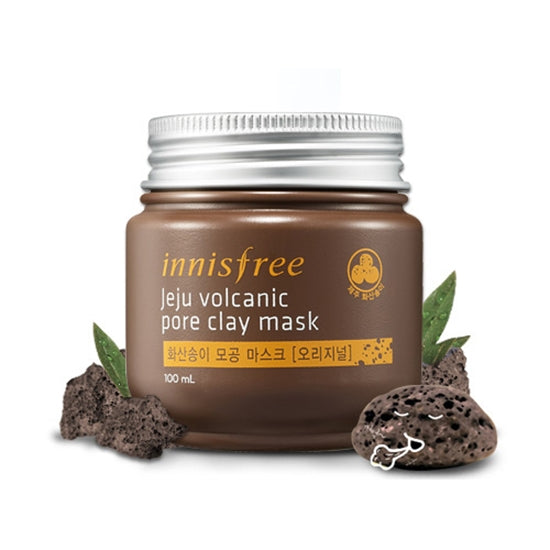 Innisfree Jeju Volcanic Pore Clay Mask - oo35mm
