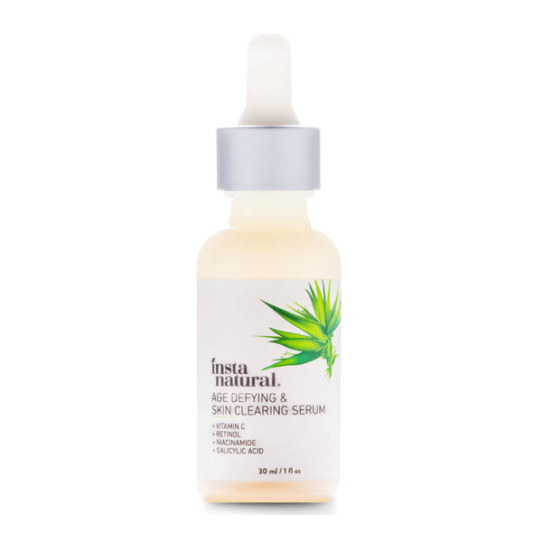 Instanatural Age Defying & Skin Clearing Serum - oo35mm
