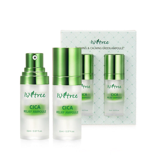 Isntree Cica Relief Ampoule Set - oo35mm