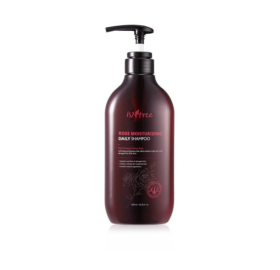 Isntree Rose Moisturizing Daily Shampoo - oo35mm
