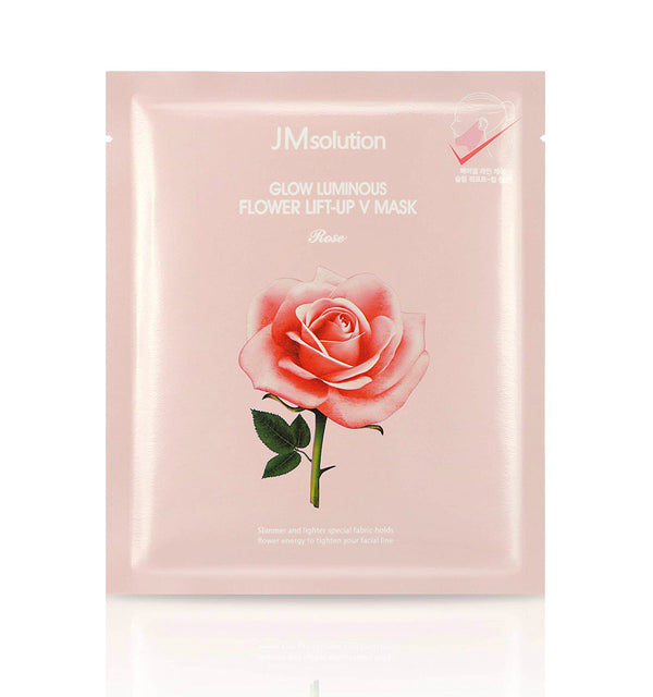 JM Solution Glow Luminous Flower Lift-Up V Mask