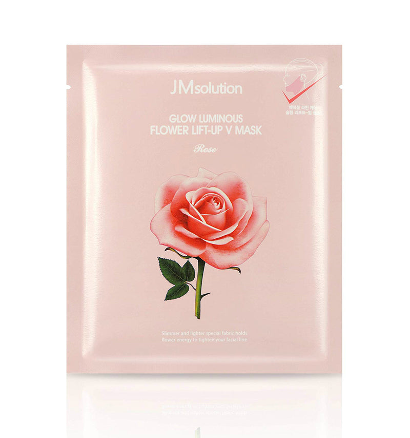 JM Solution Glow Luminous Flower Lift-Up V Mask - oo35mm