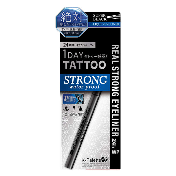 K-Palette Real Strong Eyeliner 24h WP Super Black - oo35mm