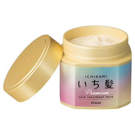 Kracie Ichikami Premium Hair Treatment Mask - oo35mm
