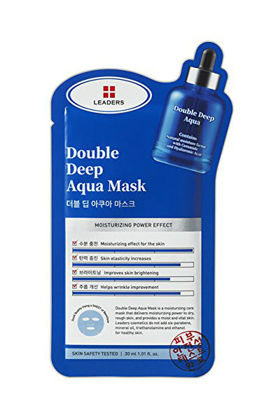 Leaders Double Deep Aqua Mask