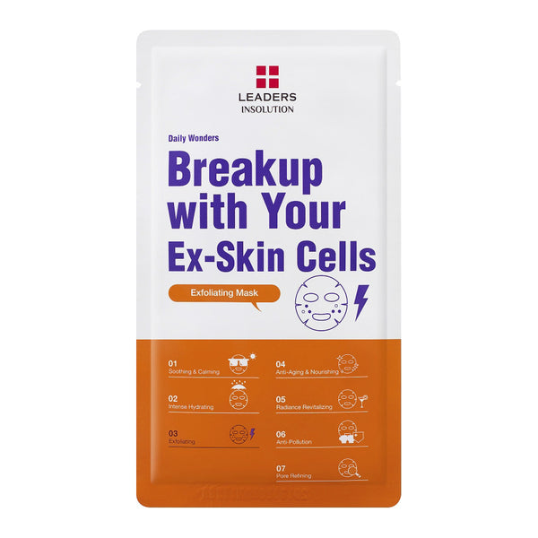 Leaders Insolution Daily Wonders Break Up With Your Ex-Skin Cell Mask