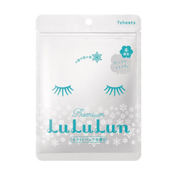 Lululun 7 Days Sheet Mask - Seasonal Snow - oo35mm