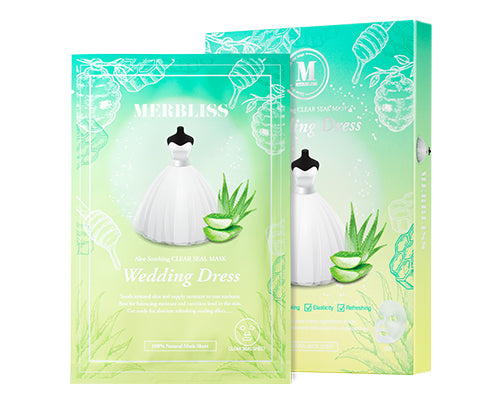 Merbliss Aloe Soothing Clear Seal Wedding Dress Mask