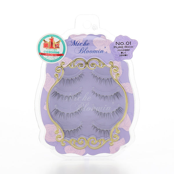DUP Bloomin' Eyelashes Pure Rich 01 - oo35mm