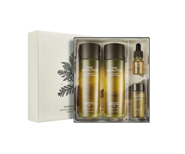 Missha Time Revolution Artemisia Treatment Essence Special Set - oo35mm