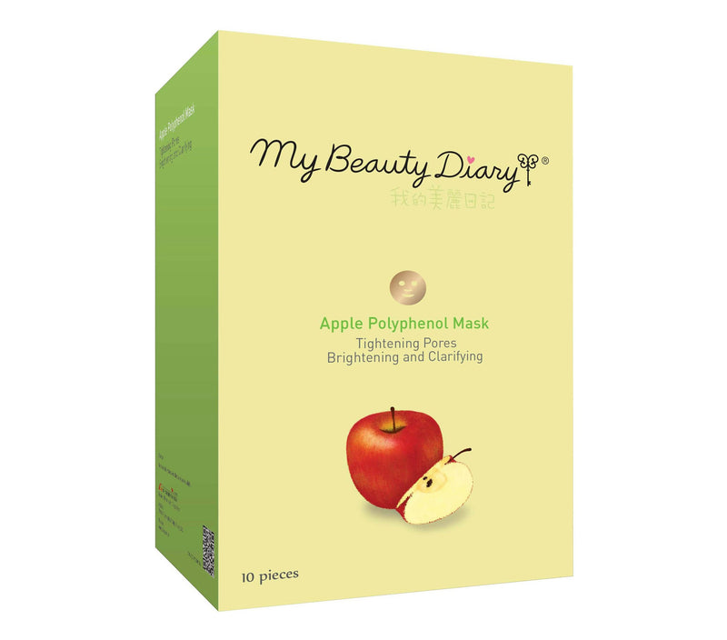 My Beauty Diary Apple Polyphenol Mask (EXP 2020-12) - oo35mm