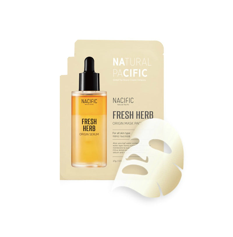 Nacific Fresh Herb Origin Mask Pack - oo35mm