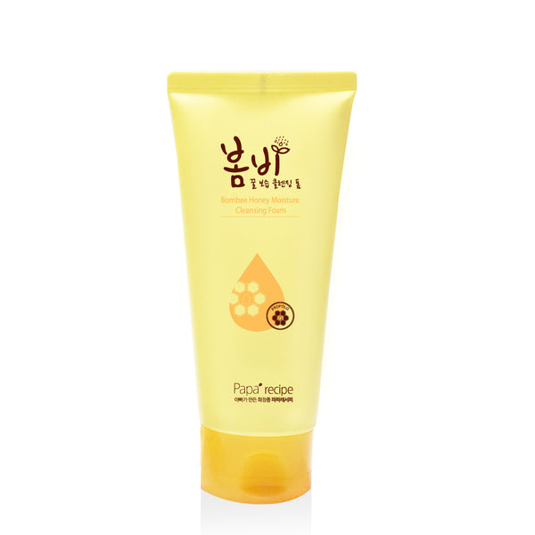 Papa Recipe Bombee Honey Moisture Cleansing Foam