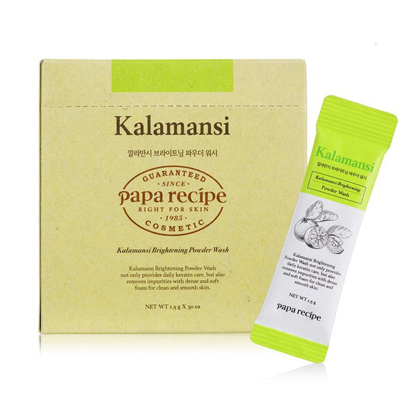 Papa Recipe Kalamansi Brightening Powder Wash