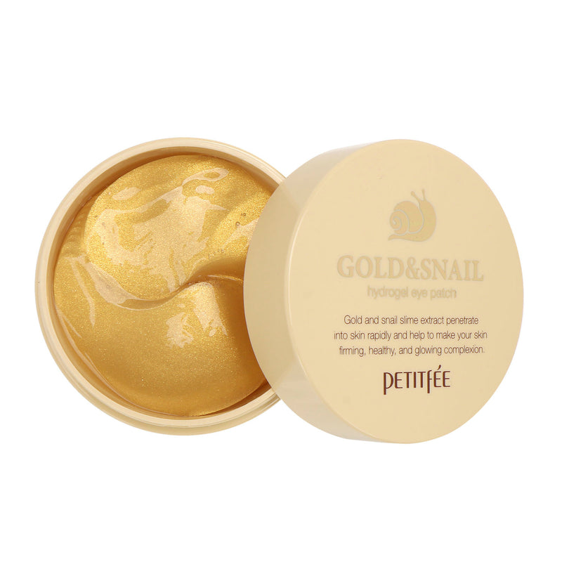 Petitfee Gold & Snail Hydrogel Eye Patch - oo35mm