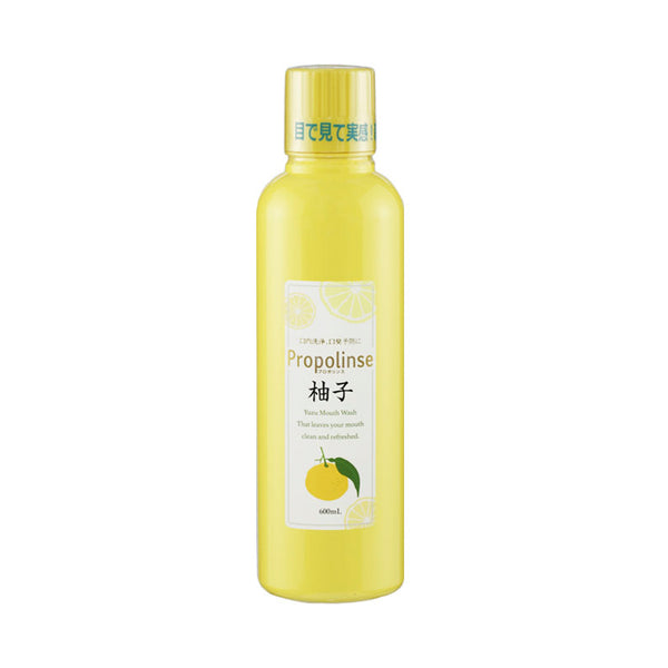Propolinse Mouth Wash Yuzu 600ml - oo35mm