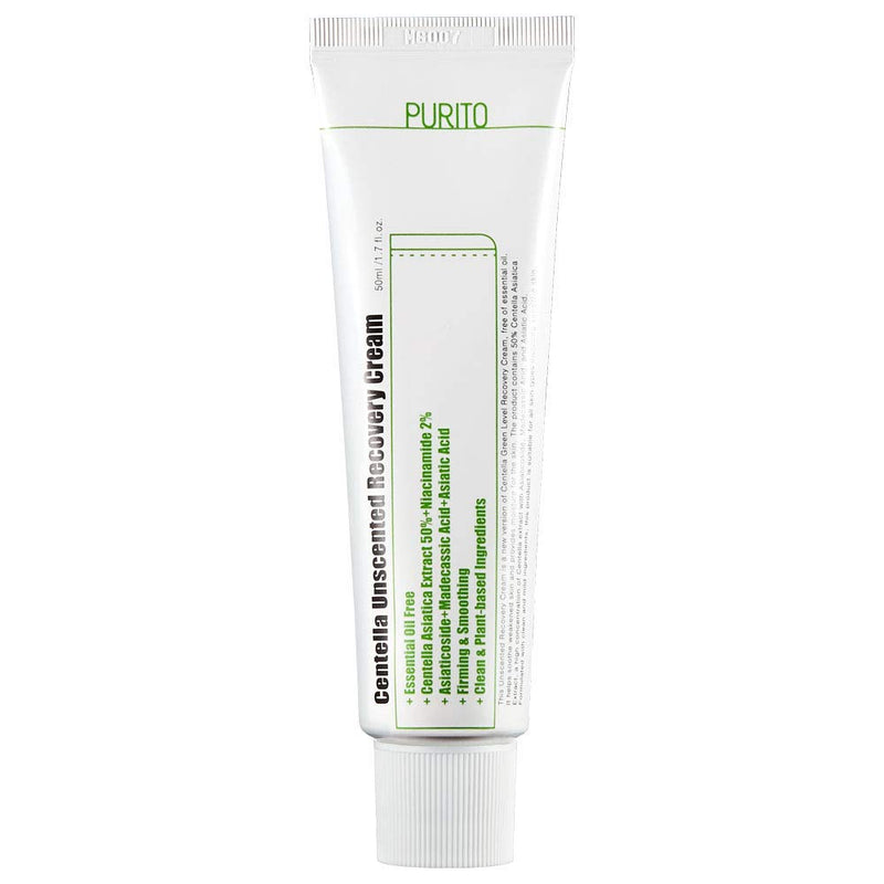 Purito Centella Green Level Recovery Cream Unscented - oo35mm