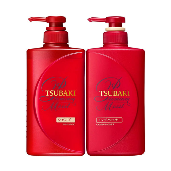 Shiseido Tsubaki Premium Moist Shampoo and Conditioner - oo35mm