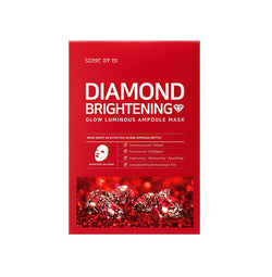 Some By Mi Diamond Brightening Calming Glow Luminous Ampoule Mask - oo35mm