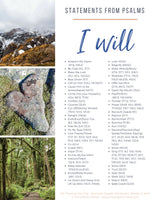 """I Will"" Statements from Psalms"