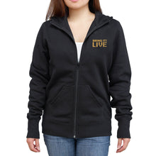 Load image into Gallery viewer, Bring It! Live - Hoodie (Gold Foil & Glitter)