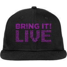 Load image into Gallery viewer, Bring It! Live - Hat (Purple Glitter)