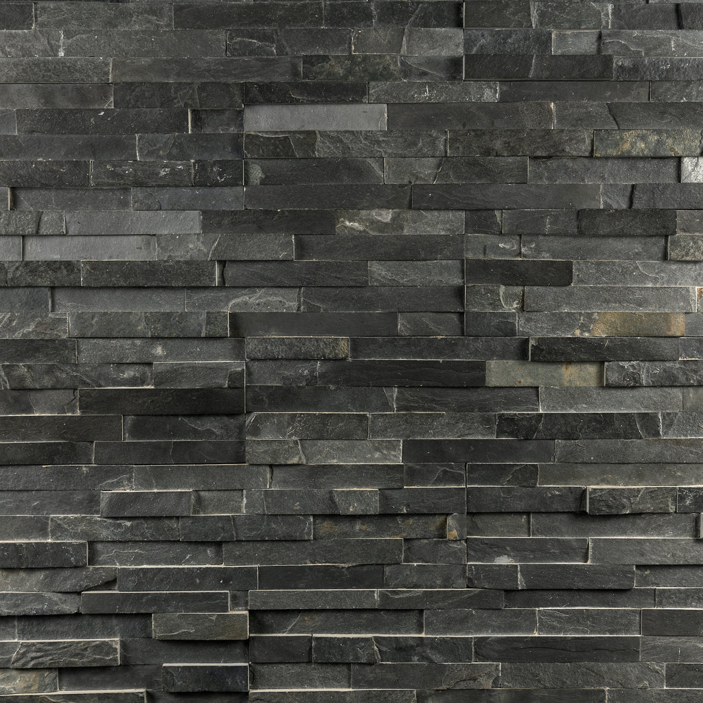 Stackstone - Cleft Face Black